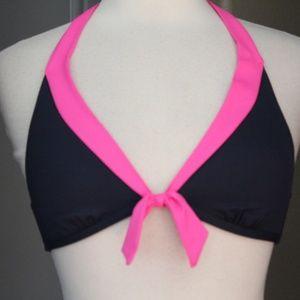 Anne Cole Swim - NEW Anne Cole Signature Bikini Top Halter Navy